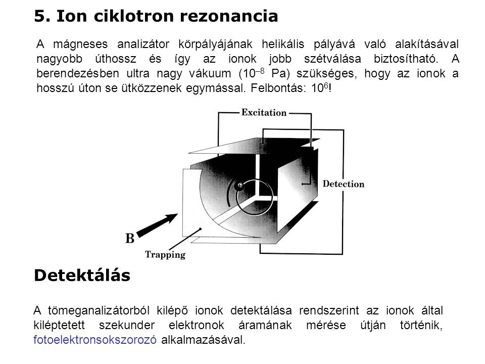 5. Ion ciklotron rezonancia