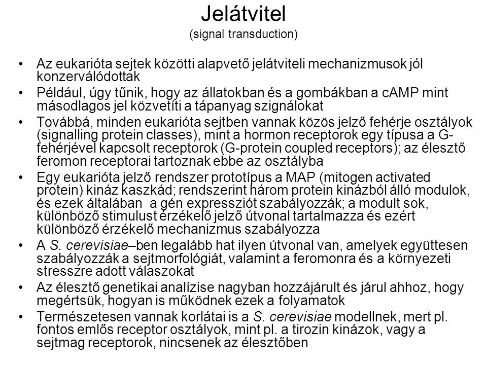 Jelátvitel (signal transduction)