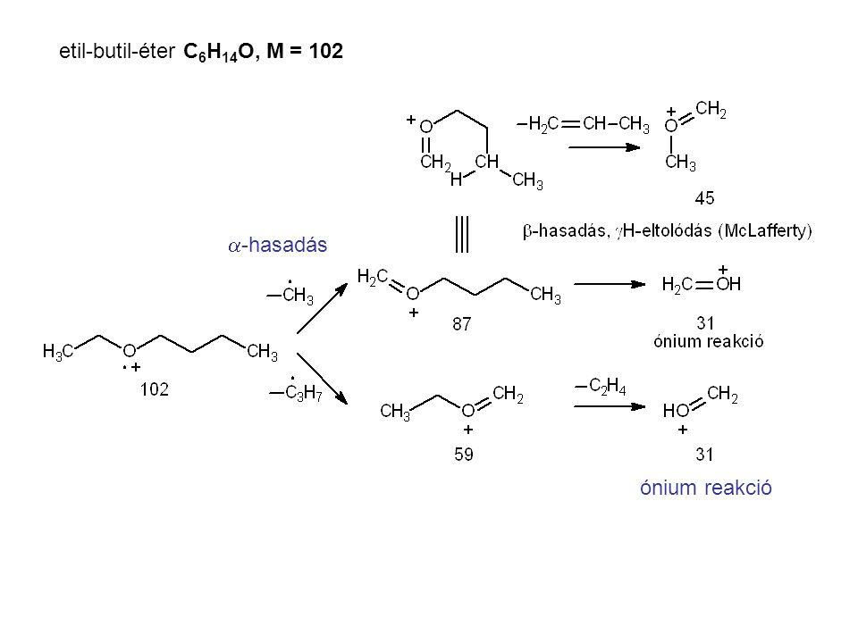 etil-butil-éter C6H14O, M = 102