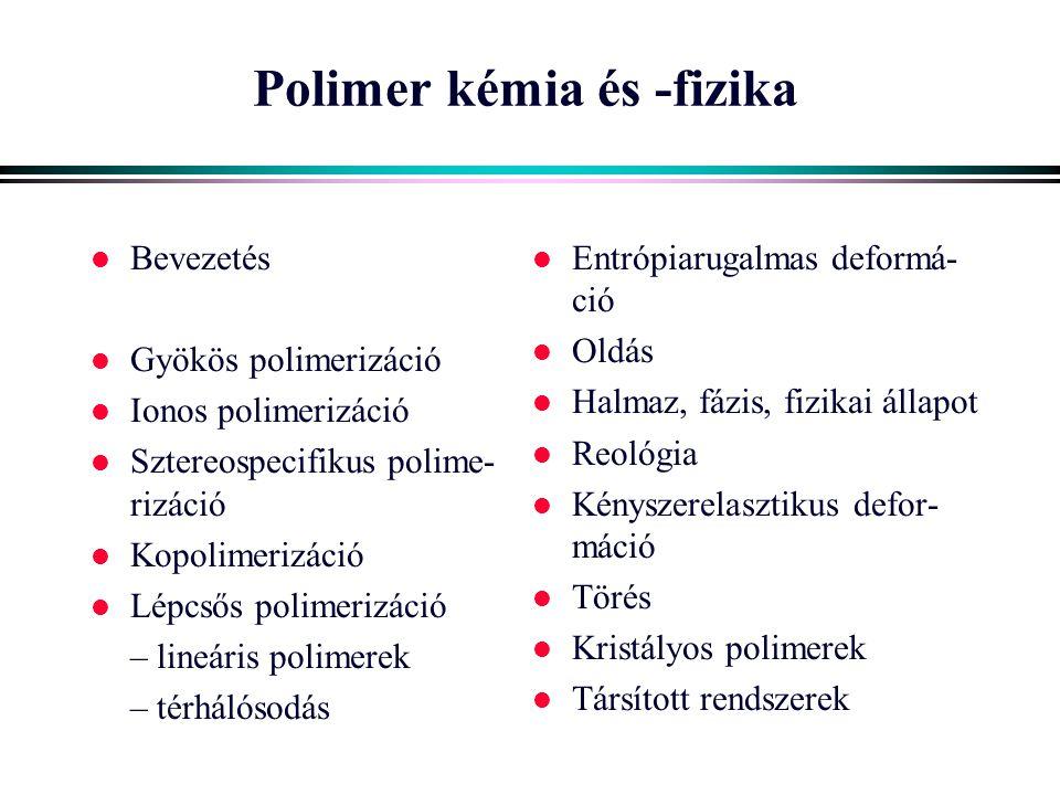 Polimer kémia és -fizika
