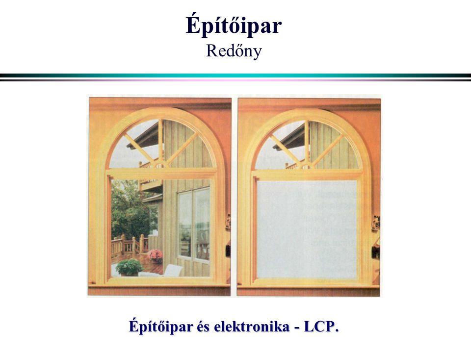 Építőipar és elektronika - LCP.