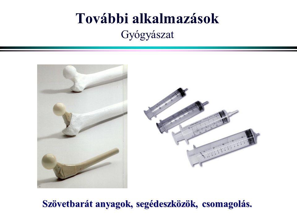 További alkalmazások Gyógyászat