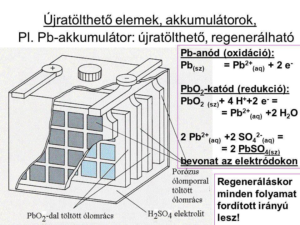 Újratölthető elemek, akkumulátorok,