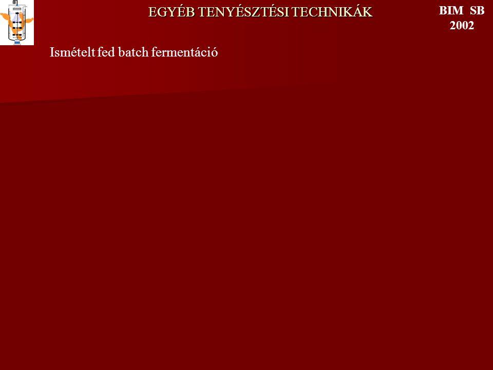 EGYÉB TENYÉSZTÉSI TECHNIKÁK