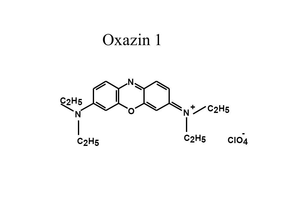 Oxazin 1 N C 2 H 5 + C O 2 H 5 N N - C H C H 2 5 ClO 2 5 4
