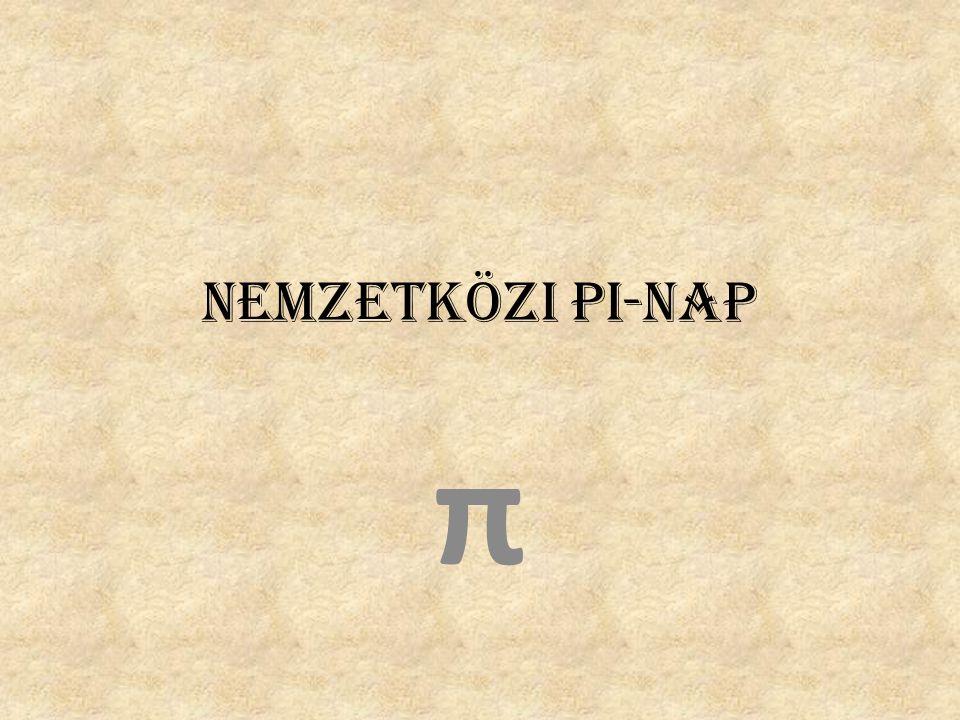 Nemzetközi Pi-nap π