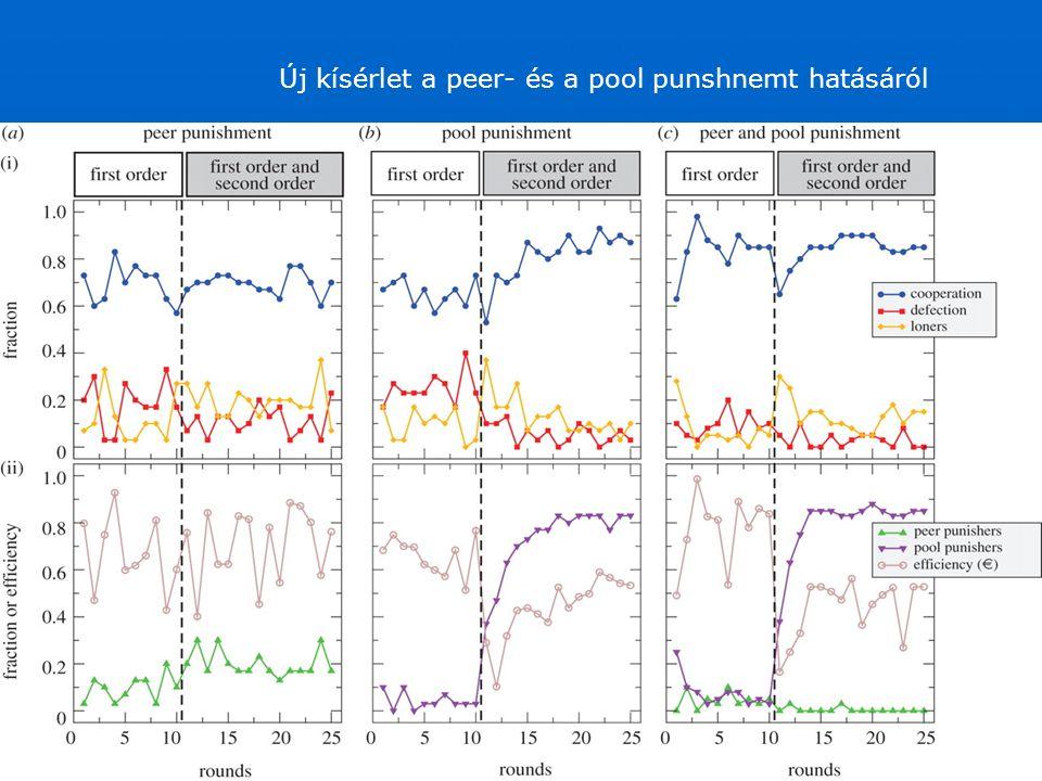 Új kísérlet a peer- és a pool punshnemt hatásáról