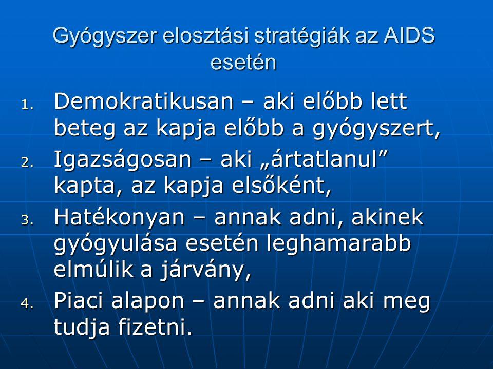 Gyógyszer elosztási stratégiák az AIDS esetén