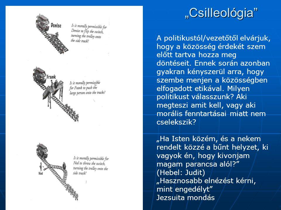 """""""Csilleológia"""