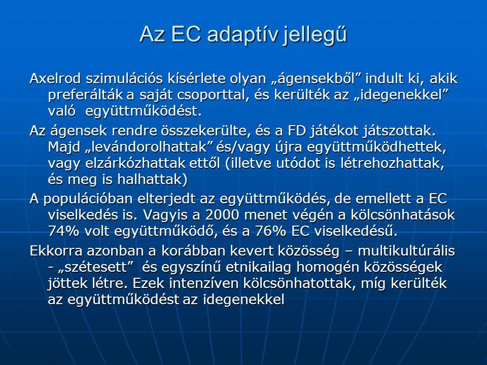 Az EC adaptív jellegű