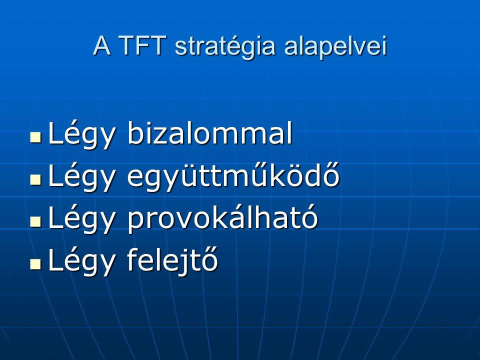 A TFT stratégia alapelvei