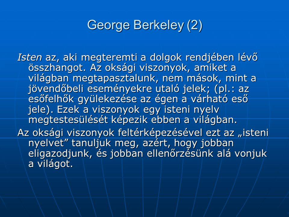 George Berkeley (2)