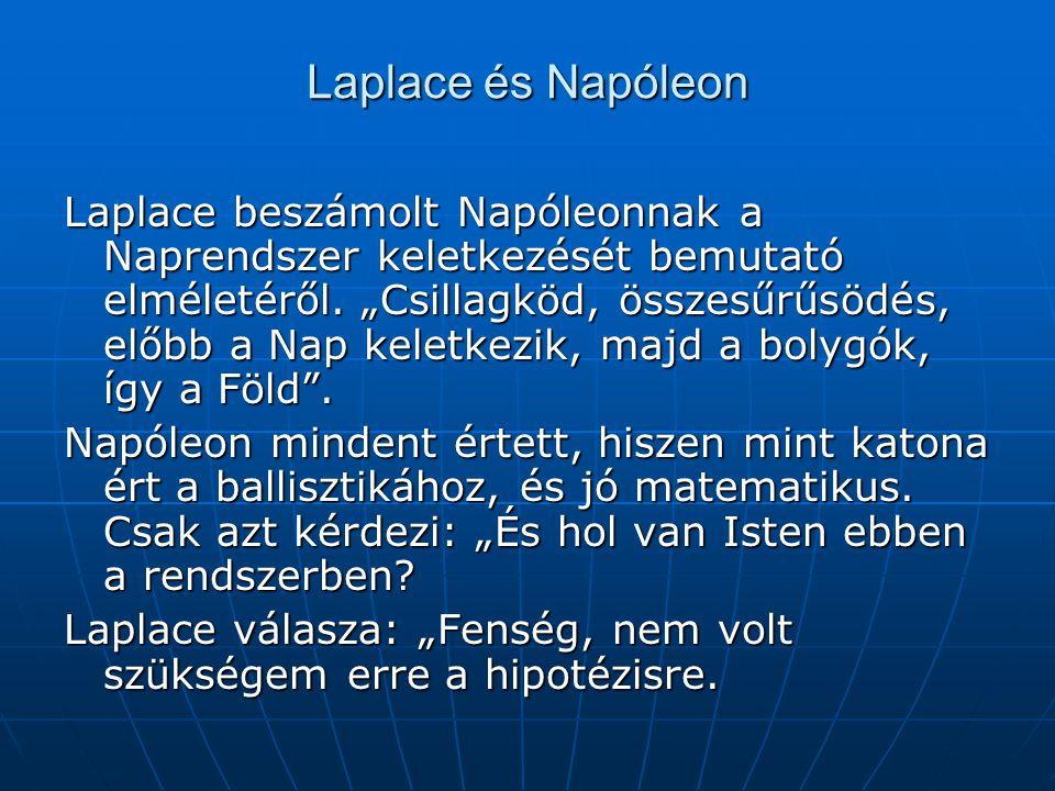 Laplace és Napóleon