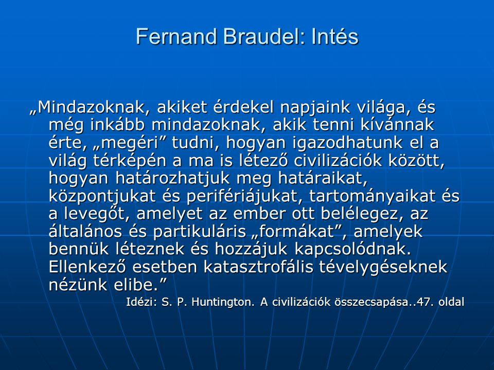 Fernand Braudel: Intés
