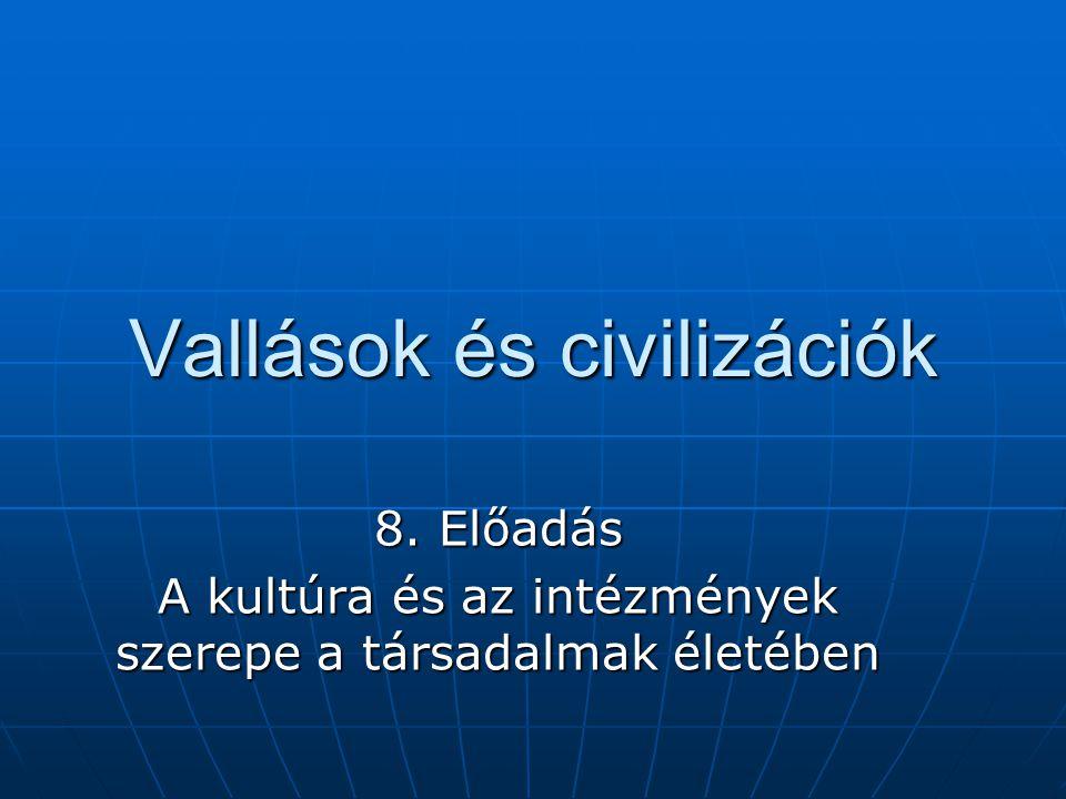 Vallások és civilizációk