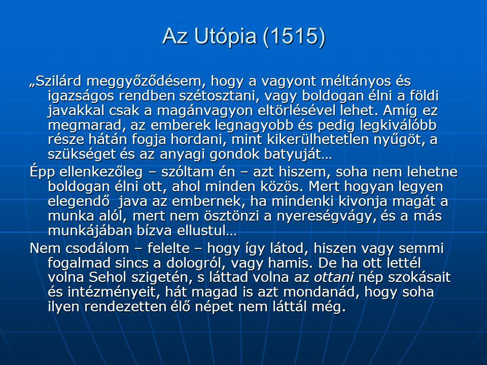 Az Utópia (1515)