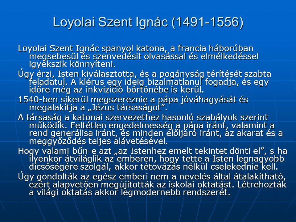 Loyolai Szent Ignác (1491-1556)