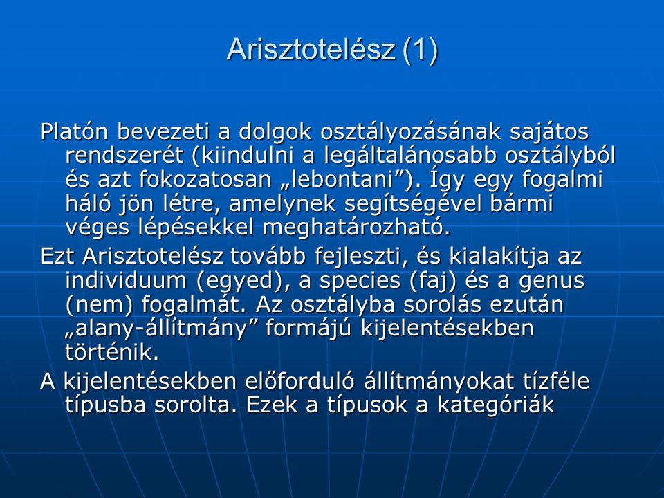Arisztotelész (1)