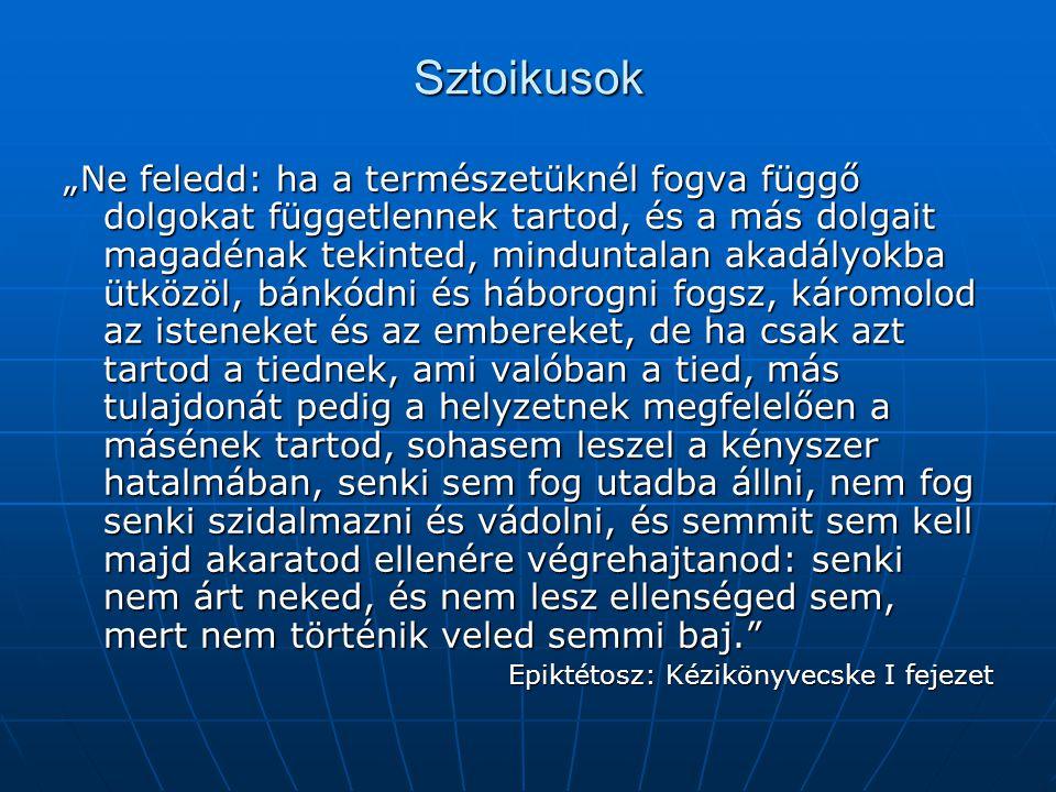 Sztoikusok