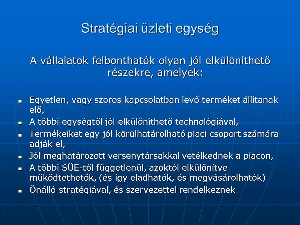 Stratégiai üzleti egység