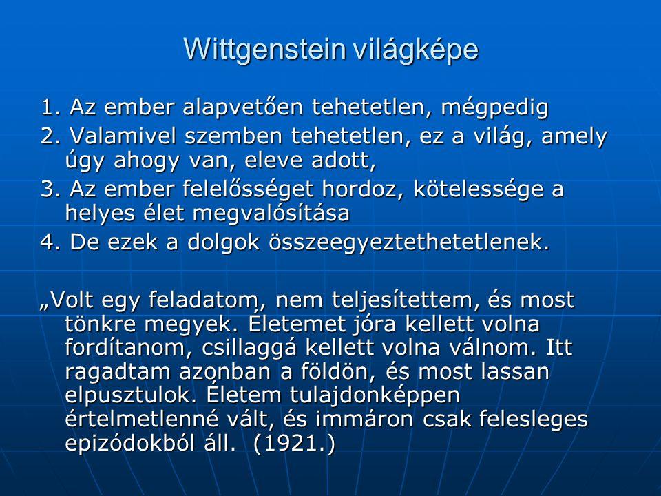 Wittgenstein világképe