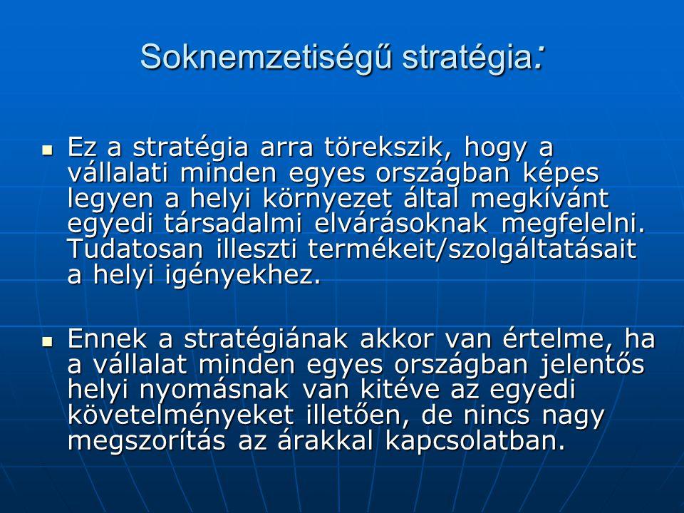 Soknemzetiségű stratégia: