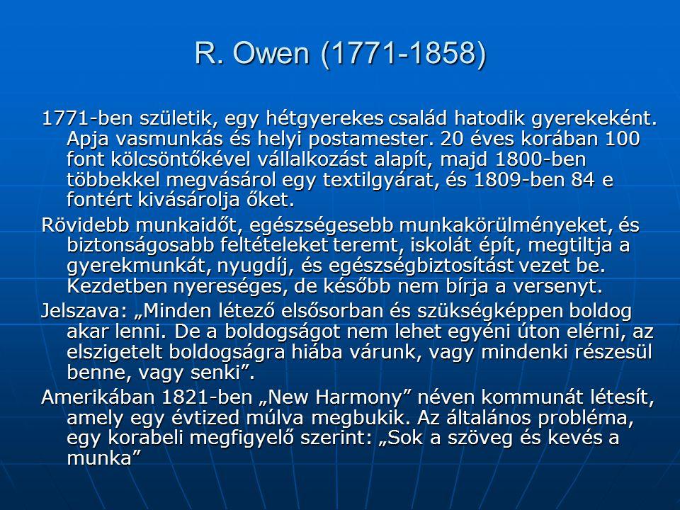 R. Owen (1771-1858)