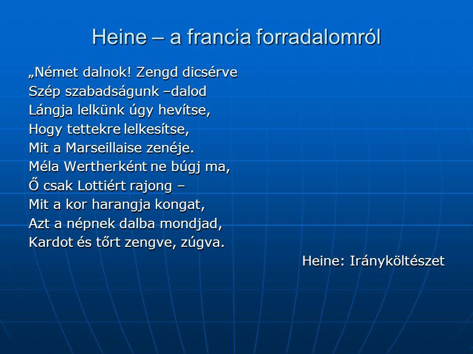 Heine – a francia forradalomról
