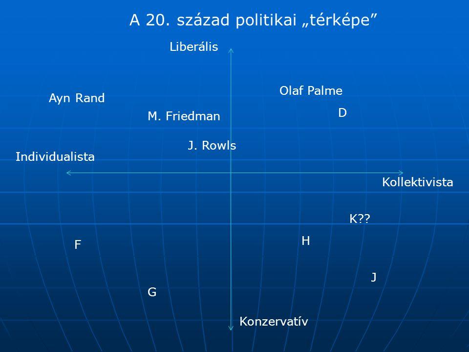 """A 20. század politikai """"térképe"""