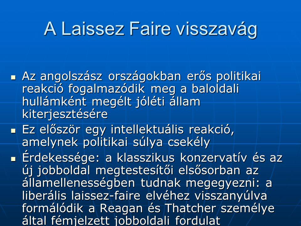 A Laissez Faire visszavág