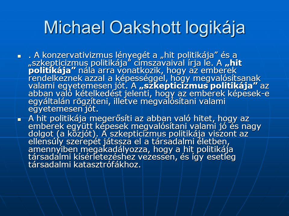 Michael Oakshott logikája