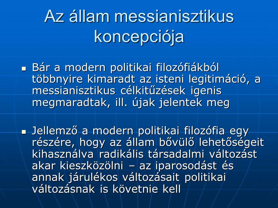 Az állam messianisztikus koncepciója