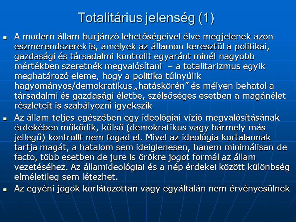 Totalitárius jelenség (1)