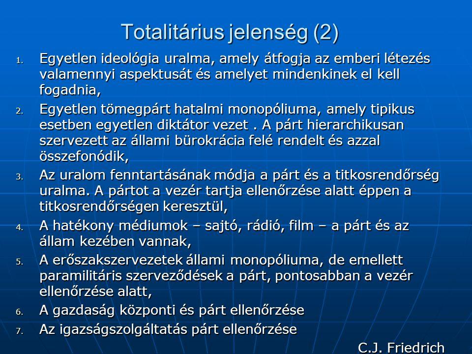 Totalitárius jelenség (2)