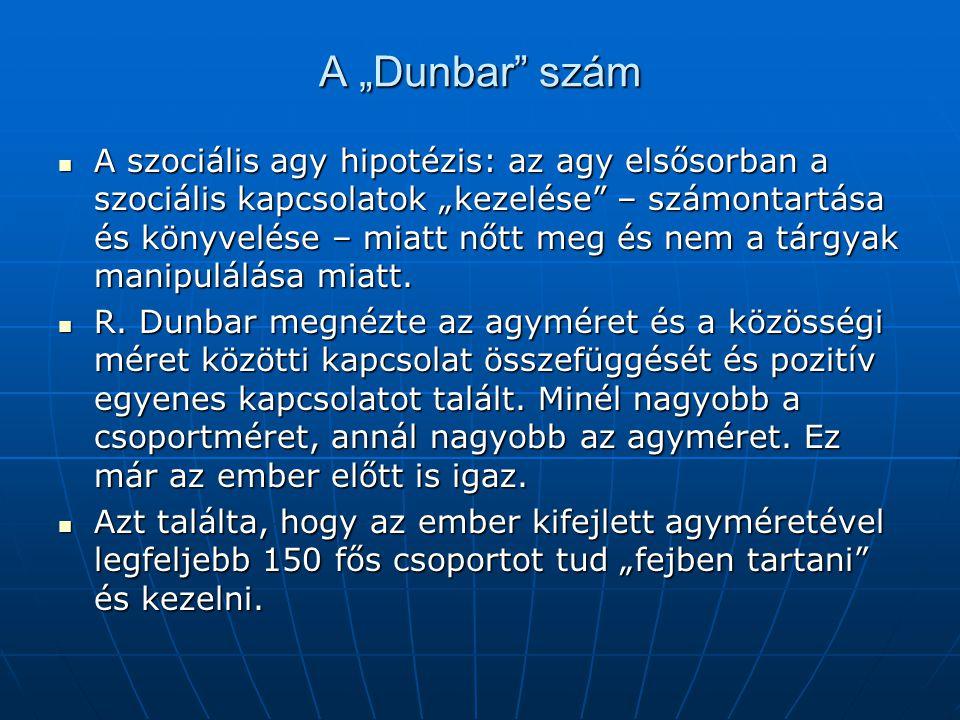 """A """"Dunbar szám"""