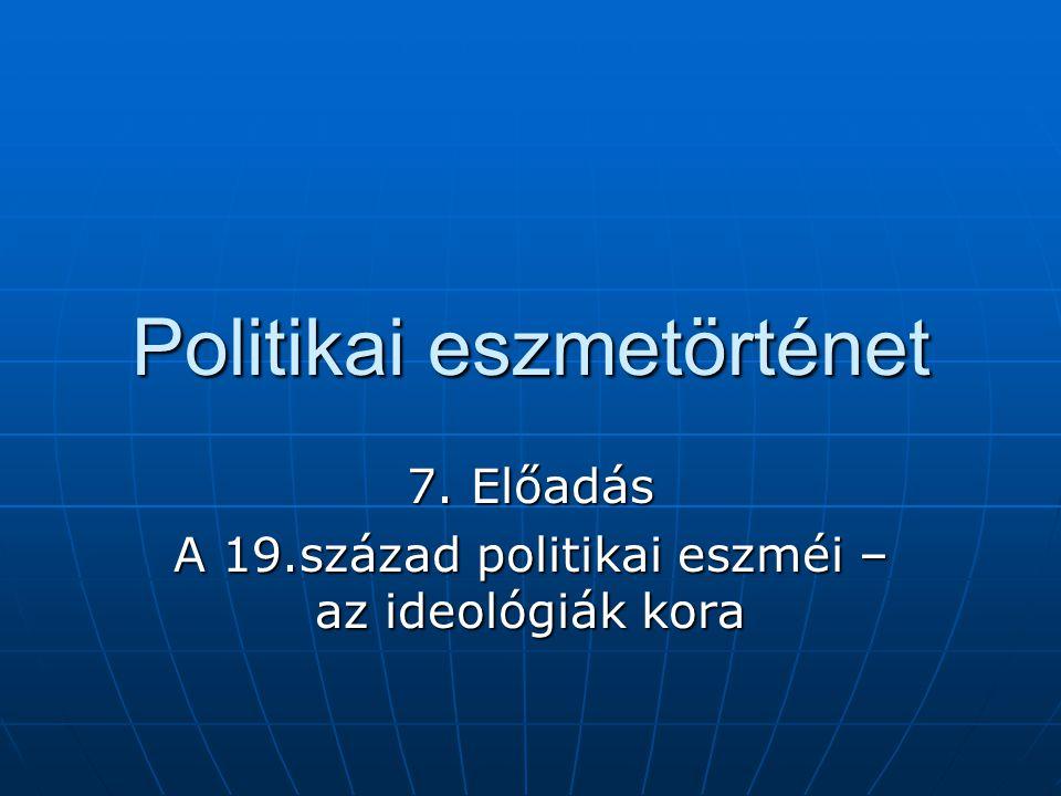 Politikai eszmetörténet