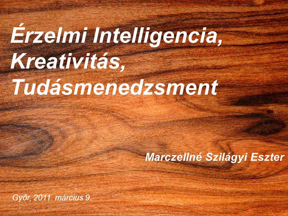 Érzelmi Intelligencia, Kreativitás, Tudásmenedzsment