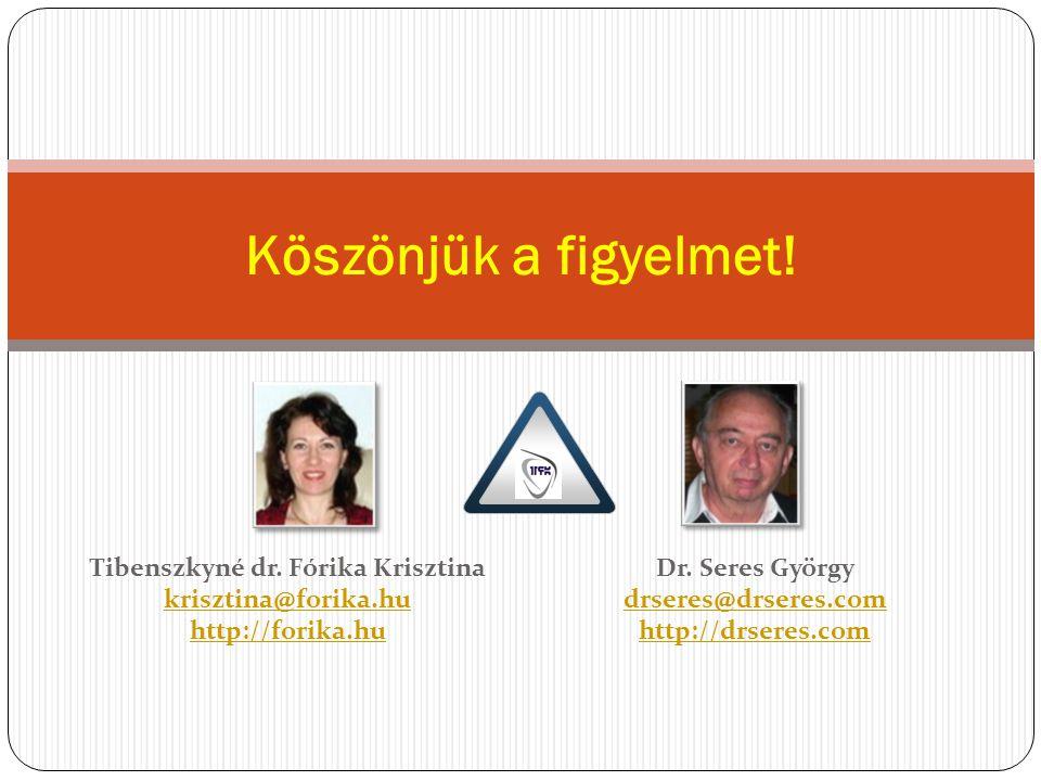 Tibenszkyné dr. Fórika Krisztina krisztina@forika.hu