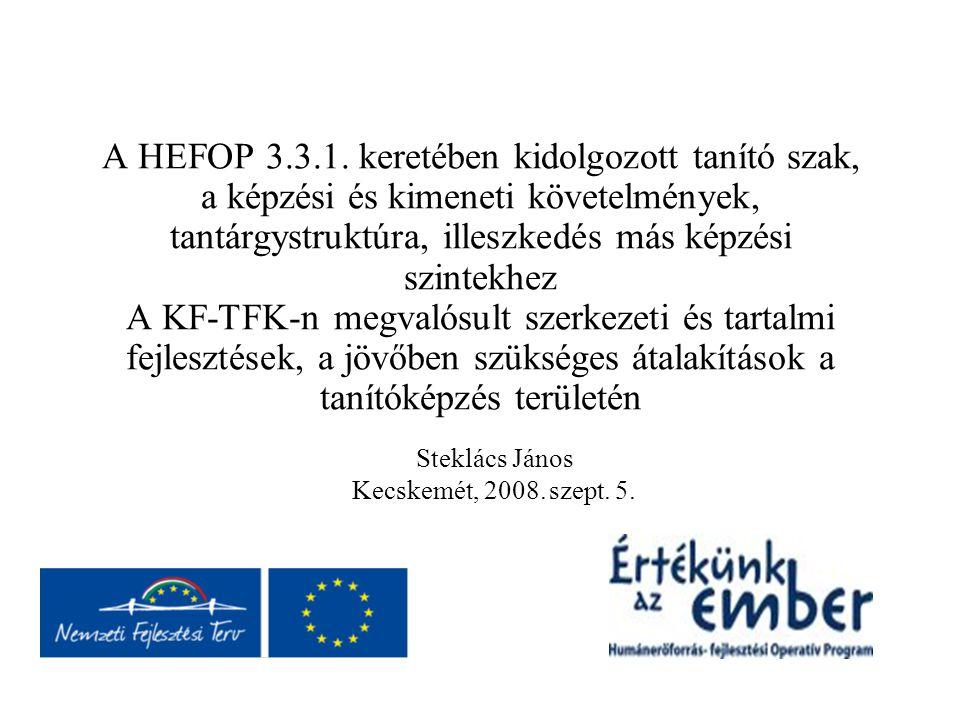 Steklács János Kecskemét, 2008. szept. 5.