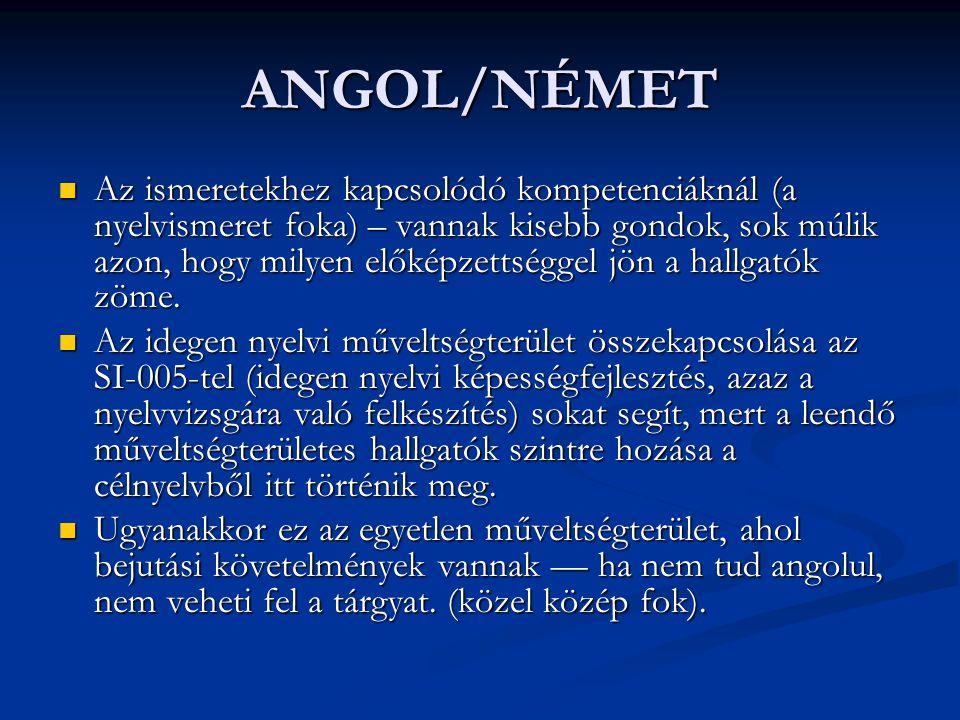 ANGOL/NÉMET