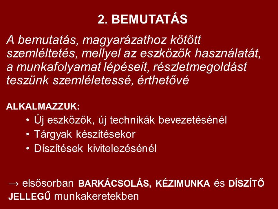 2. BEMUTATÁS