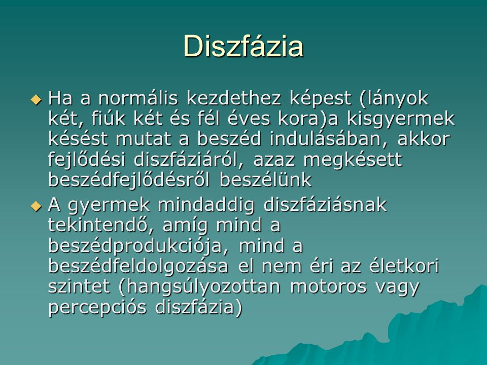 Diszfázia