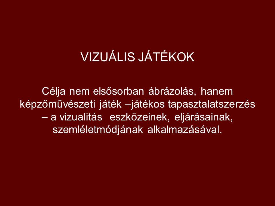 VIZUÁLIS JÁTÉKOK