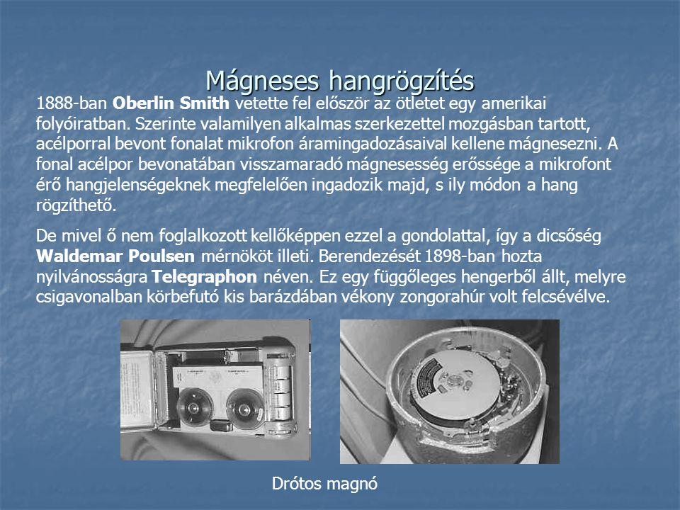 Mágneses hangrögzítés