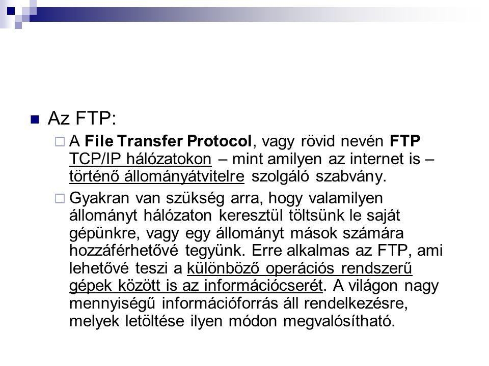 Az FTP: