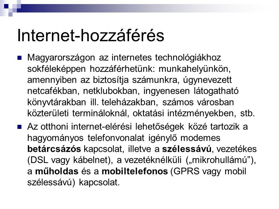 Internet-hozzáférés