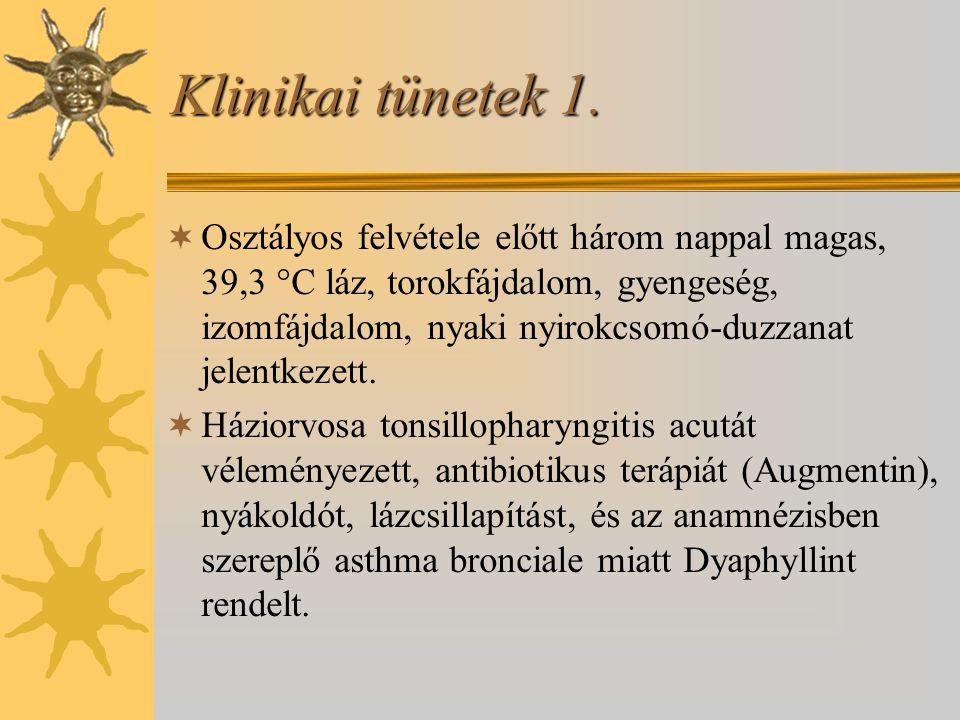 Klinikai tünetek 1.
