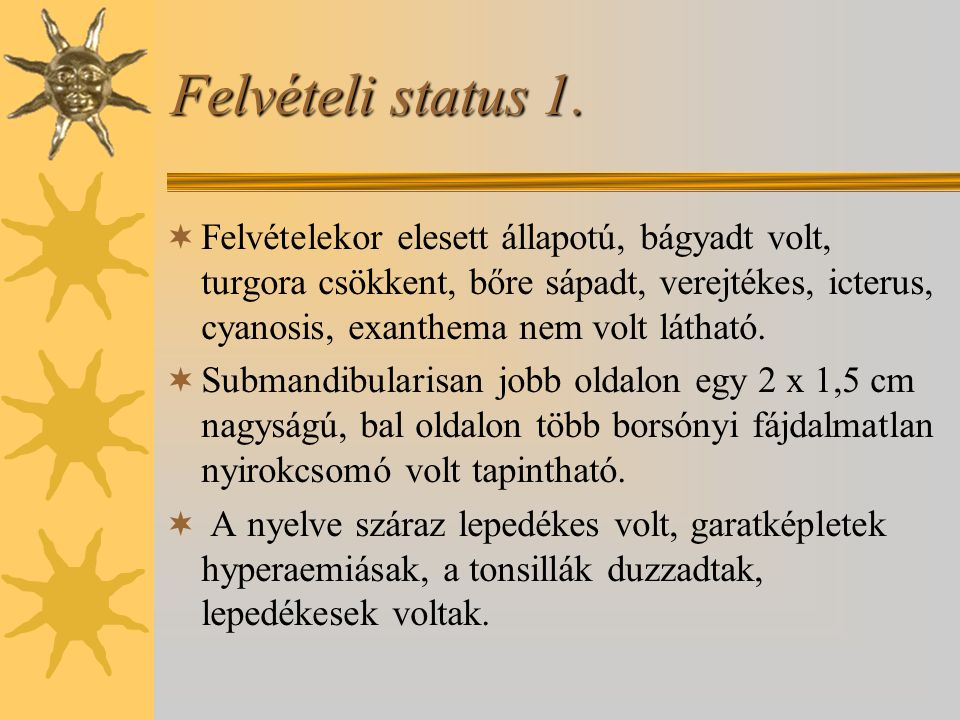 Felvételi status 1.