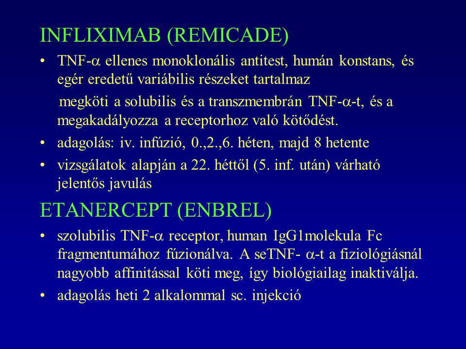 INFLIXIMAB (REMICADE)
