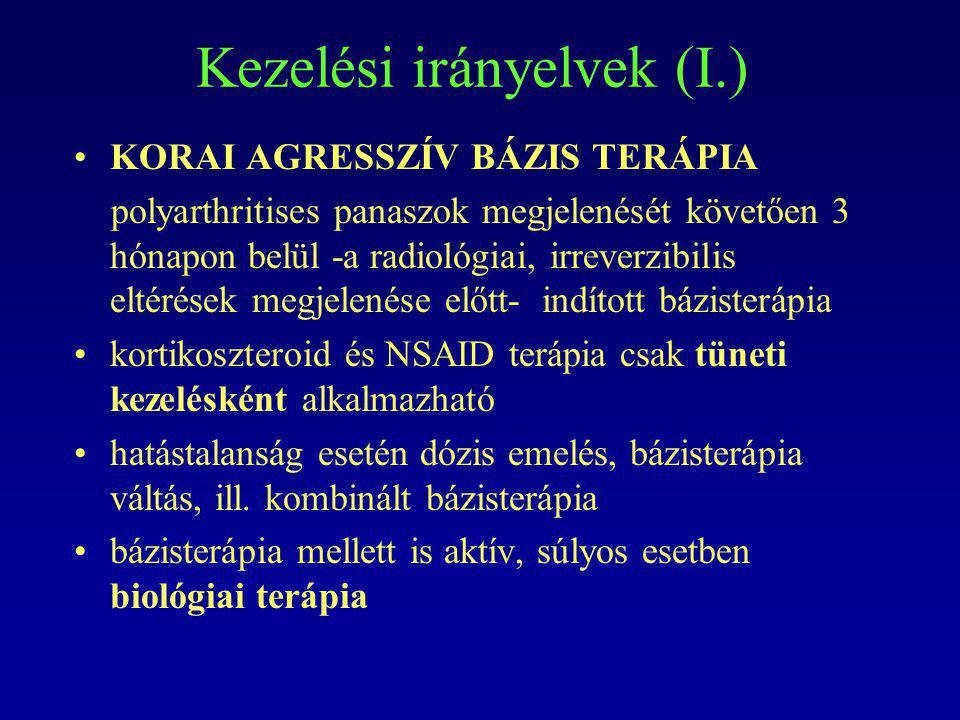Kezelési irányelvek (I.)